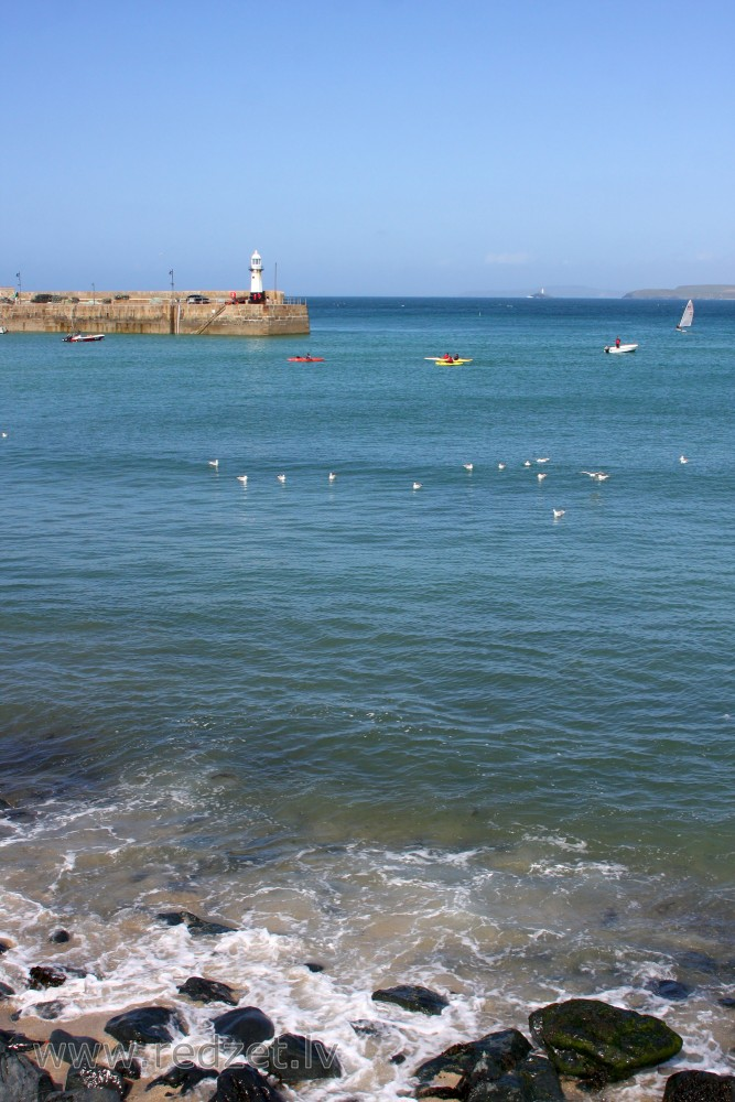 View of St Ives Bay