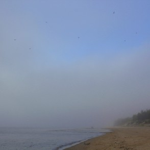 Fog in the Sea in late Autumn