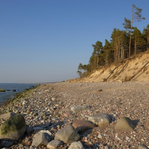 Steep coast, Stone, Baltic Sea Coastline, Latvia
