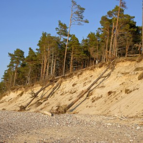 Steep coast, Baltic Sea Coastline, Latvia