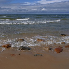 Baltic Sea landscape, Latvia