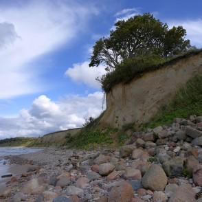 Steep coast Landscape, Baltic Sea Coastline, Latvia