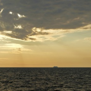 Morning Seascape in the Gulf of Riga