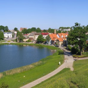 Panoramic View of Talsi Town