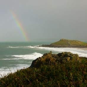 Rainbow In St Ives, Cornwall