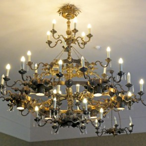 Barbele Boys School ''Roots and Wings'' Hall's Chandelier