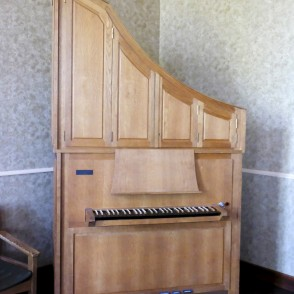 Organ in Hall of Barbele Boys School ''Roots and Wings''