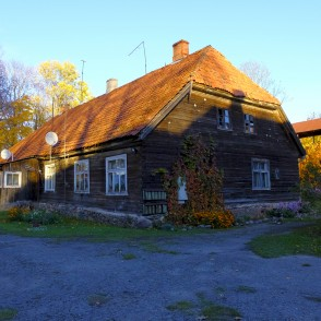 View of the Smiltene Manor House - Kalnamuiza Manor