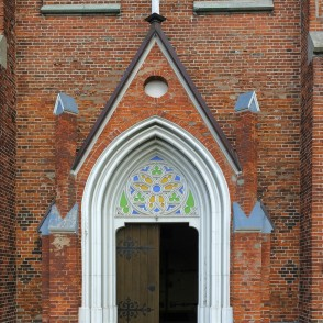 Entrance Portal Of  St. Anne's Lutheran Church