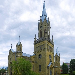 St. Joseph Catholic Cathedral in Liepaja, Latvia