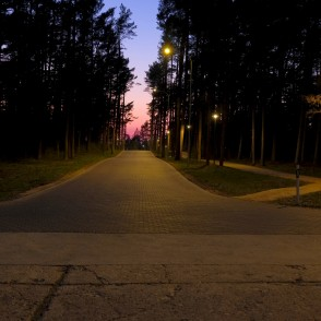 Ventspils in Night