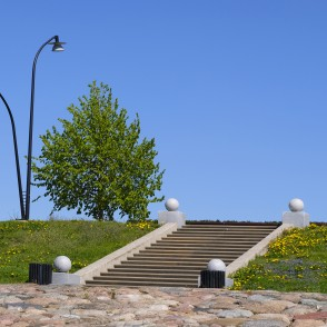 Stairs from Lielupe Coast to Lielupe Bank Promenade