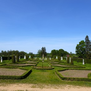 Renaissance Garden of Brukna Manor