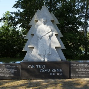 Memorial to the National Resistance Movement, Latvia
