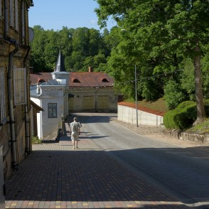 Historical centre of Talsi, Latvia