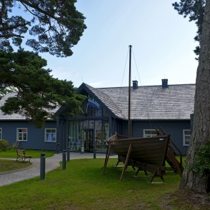 Livonian community house at Kolka